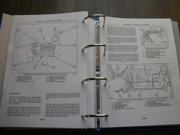 New Holland Tc48da Tc55da Workshop Service Manual Book 87357371