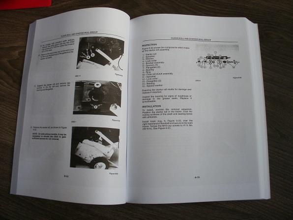 New Holland Round Baler 634 644 654 664 Workshop Service Manual Book 40063440