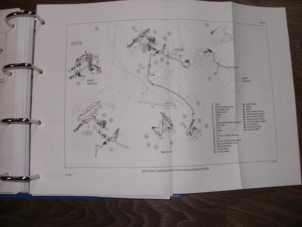 New Holland Skid Steer Loader L223 L225 L230 Workshop